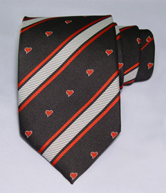 A Victoria Unique Necktie -  a Wonderful Gift for St. Valentine's Day