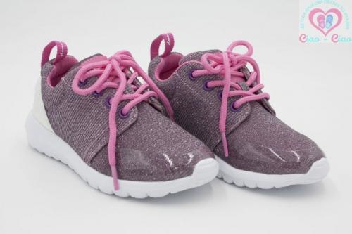 Маратонки за момиче GIOSEPPO от розово ламе
