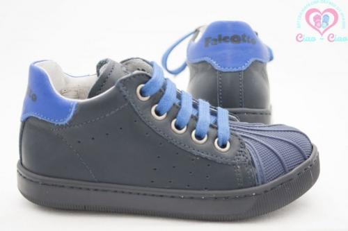 Бебешки обувки за прохождане на момче FALCOTTO by NATURINO от естествена кожа