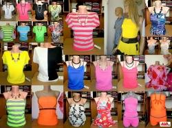 Производство на дамски блузи и туники на едро и на дребно