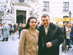 "Dessy Stoycheva and Lubomir Stoykov on ""Michaelerplatz"" - Vienna"