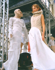"Collection of ""Elfenkleid"", spring-summer 2002"