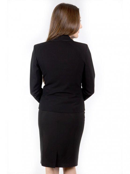 Черно дамско сако Естер