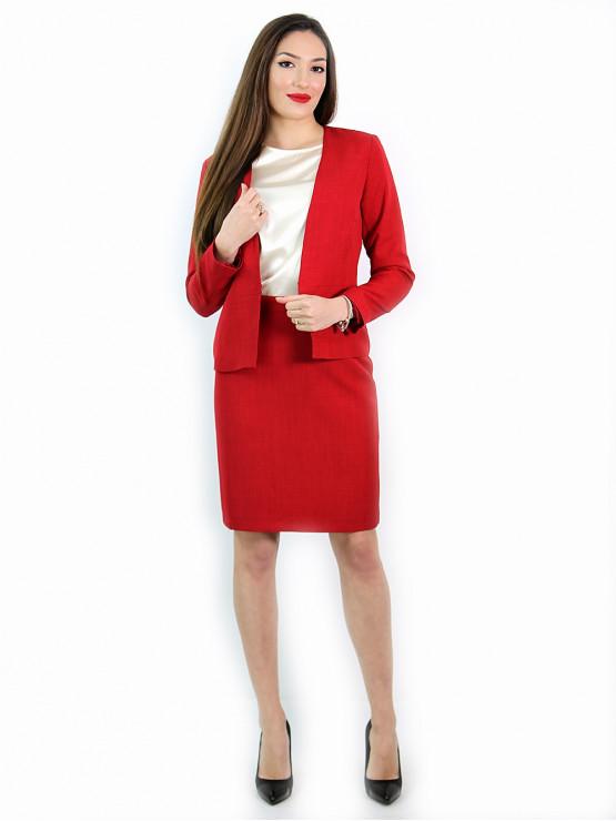 Дамско червено сако