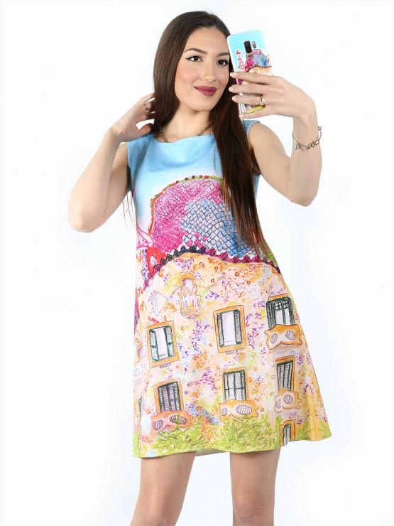 Лятна рокля без ръкав Барселона